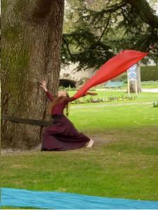 Orlane pres de l'arbre